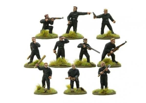 Bolt Action, 2nd Edition: BUF Action Squad Pack (10)