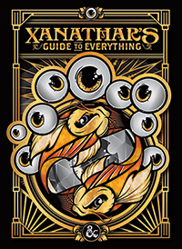 D&D: Xanathar's Guide to Everything (HC) (Alternate Cover, LIMITED)