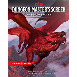 D&D: Dungeon Masters Screen Reincarnated