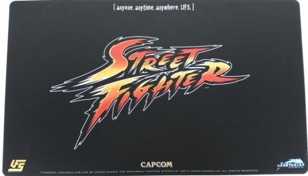 Playmat: Street Fighter Logo (CCG Accessory)