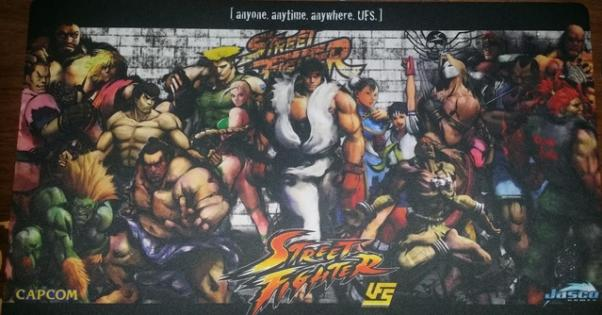 Playmat: Street Fighter Full Cast (CCG Accessory)