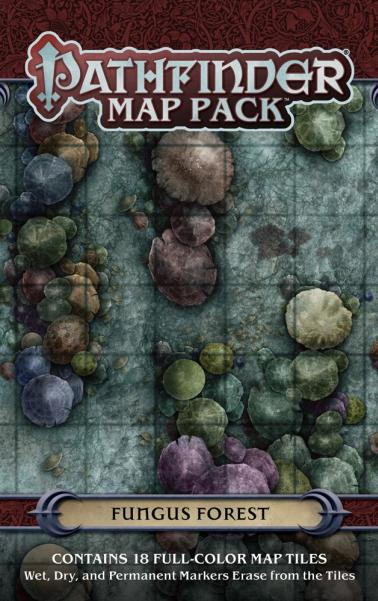 Pathfinder RPG: (Map Pack) Fungus Forest