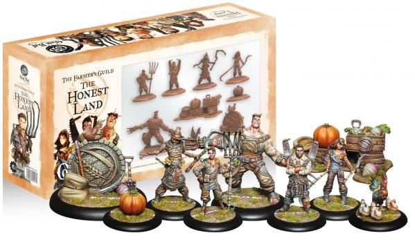 GuildBall: (Farmer's Guild) The Honest Land Box Set (Season 3)