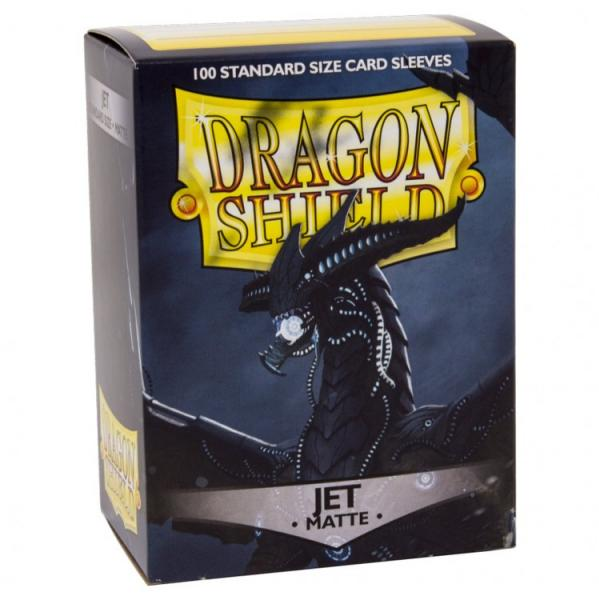 Dragon Shields: Matte Jet Sleeves (100)