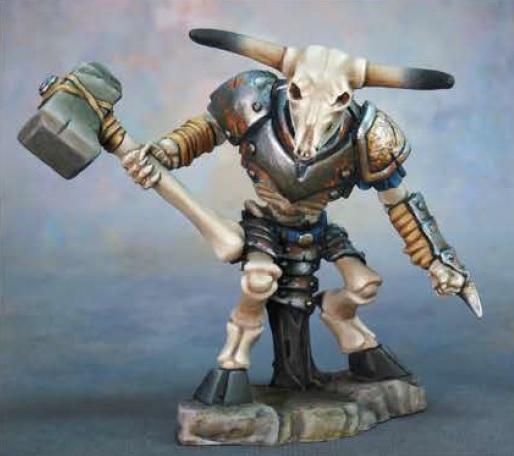 Dark Heaven Legends: Skeletal Minotaur