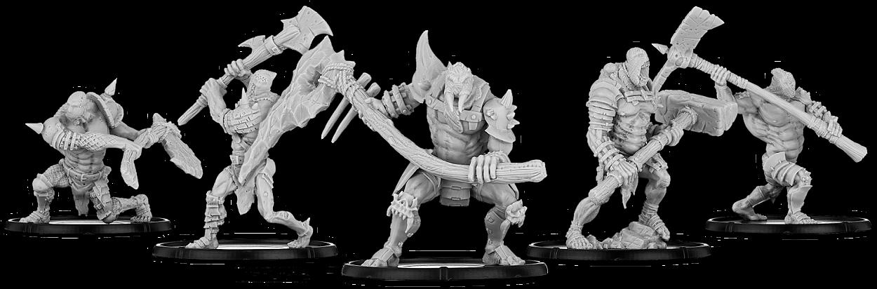 Darklands: Brutes of Brugg, Great Club Brute Unit