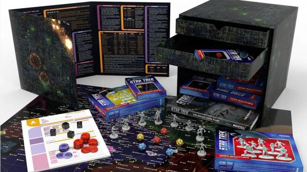 Star Trek Adventures: Borg Cube Collector's Ed. Box (Oversized Box Set) [LIMITED]