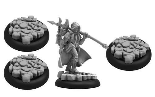 Hordes: (Grymkin) The Wanderer - Grymkin Warlock (resin/metal)