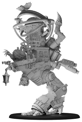 Hordes: (Grymkin) Zevanna Agha, The Fate Keeper - Grymkin Battle Engine Warlock (resin/metal)