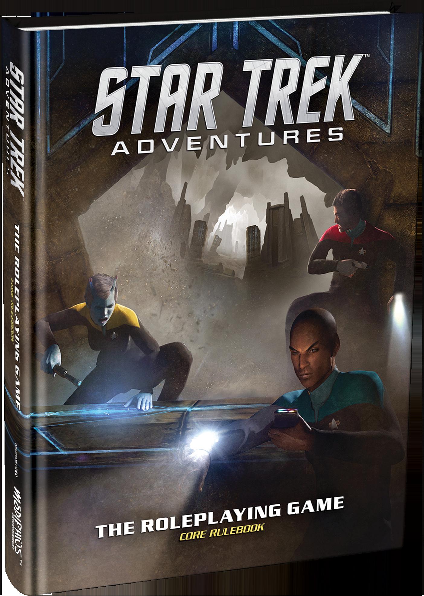 Star Trek Adventures RPG (Core Rulebook)