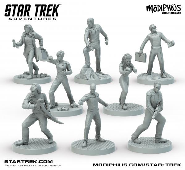 Star Trek Adventures RPG: Next Generation 32MM Minis Box Set