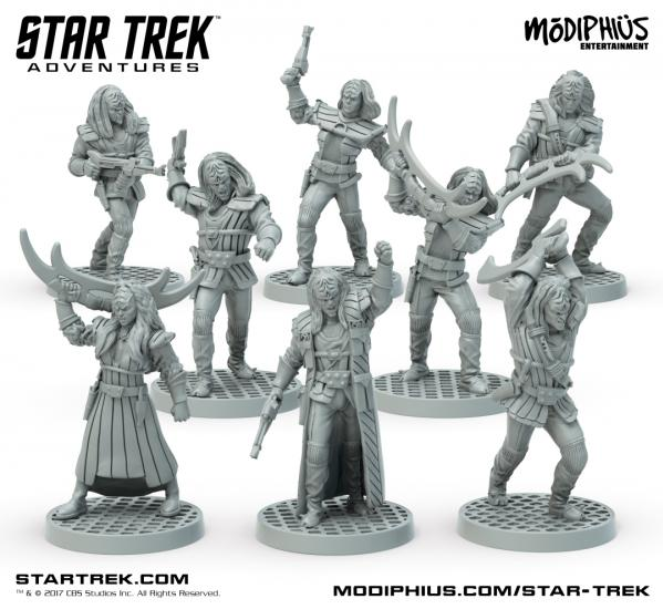 Star Trek Adventures RPG: Klingon Warband 32MM Minis Box Set