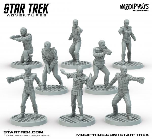 Star Trek Adventures RPG: Romulan Strike Team 32MM Minis Box Set