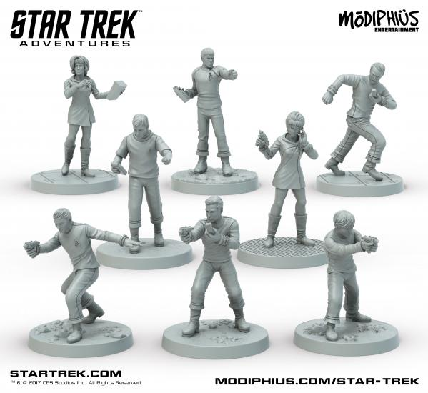 Star Trek Adventures RPG: Original Series 32MM Minis Box Set