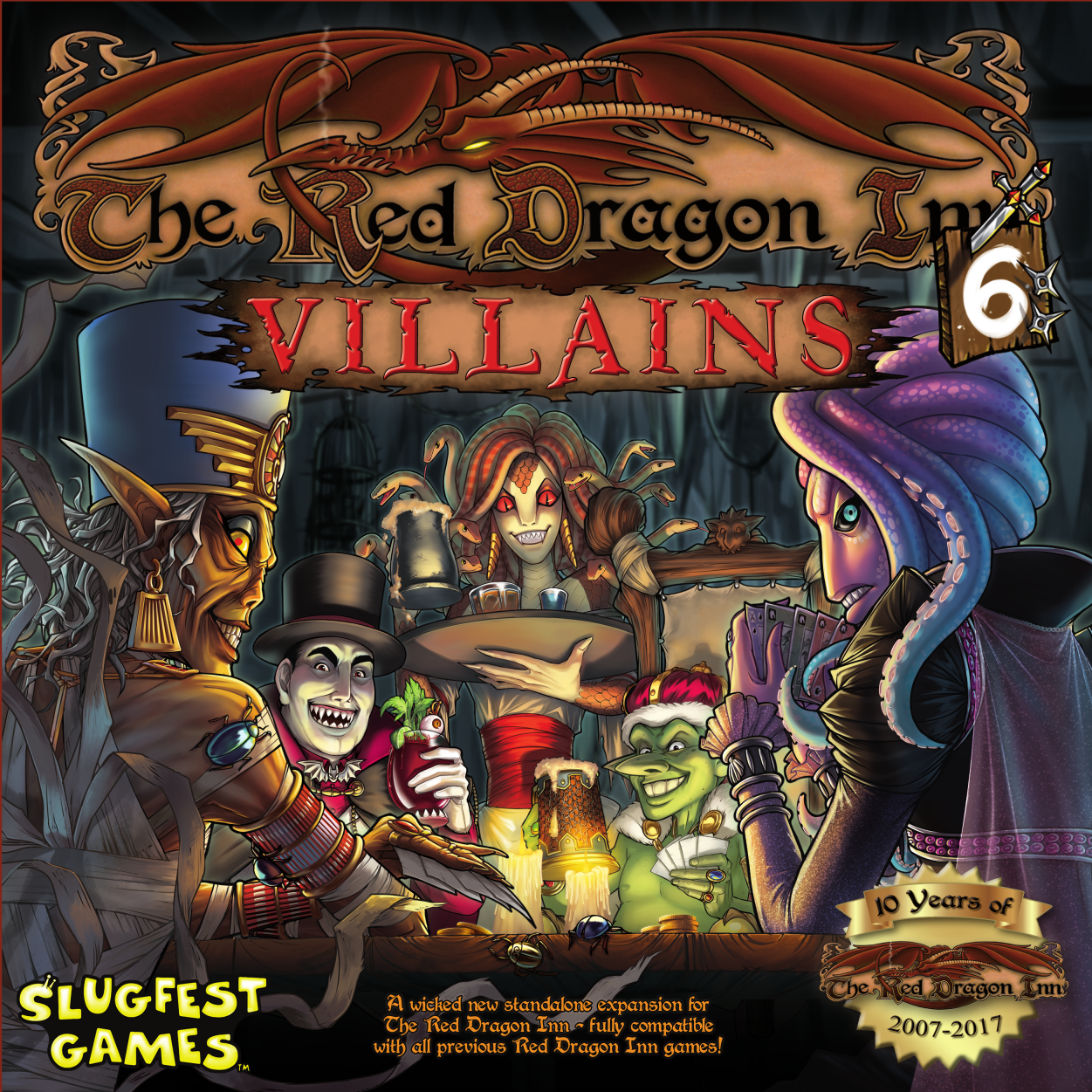 Red Dragon Inn: Villains (Expansion)