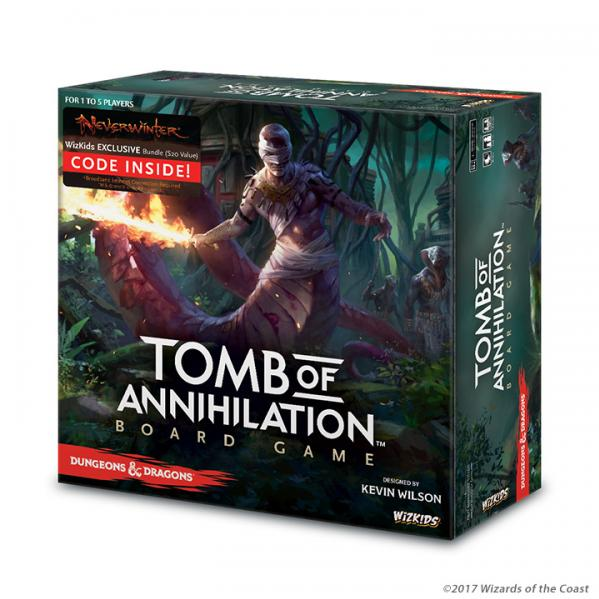 Dungeons & Dragons: Tomb of Annihilation Board Game (Regular Edition)