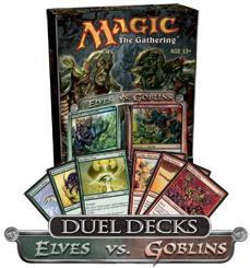 Magic the Gathering: Duel Decks - Merfolk vs Goblins