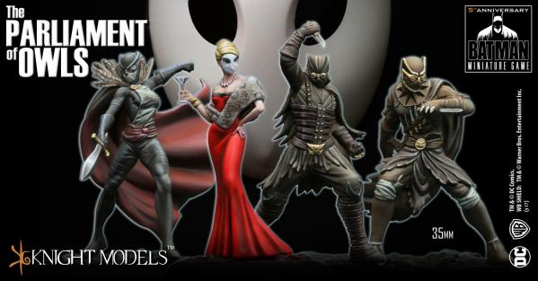 Batman Miniature Game: THE COURT OF OWLS CREW III - PARLIAMENT OF OWLS