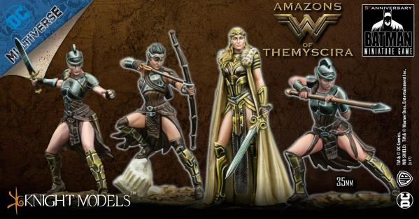 Batman Miniature Game: AMAZONS OF THEMYSCIRA