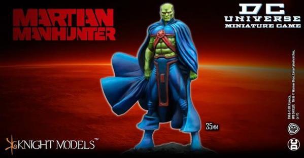Knight Models DC Universe: MARTIAN MANHUNTER