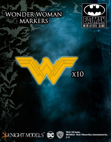 Knight Models DC Universe: (Accessories) WONDER WOMAN MARKERS