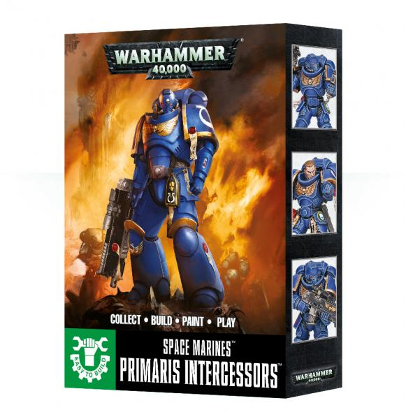 WH40K: Space Marine Primaris Intercessors (Easy to Build)