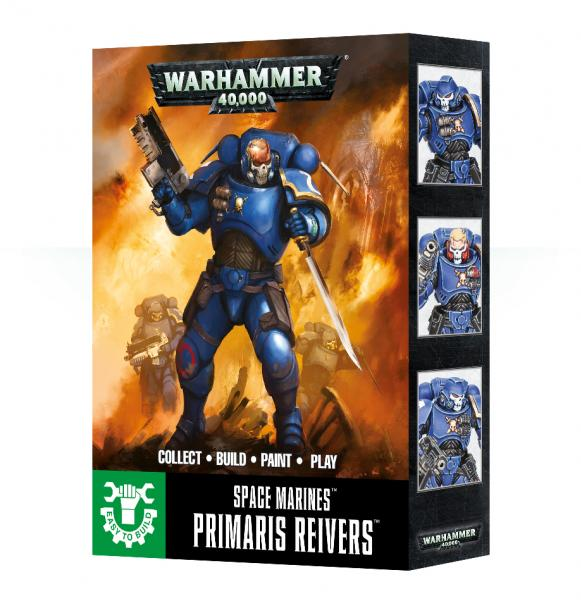 WH40K: Space Marine Primaris Reivers (Easy to Build)