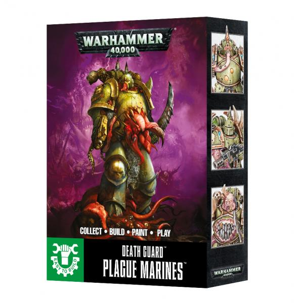WH40K: Death Guard Plague Marines (Easy to Build)