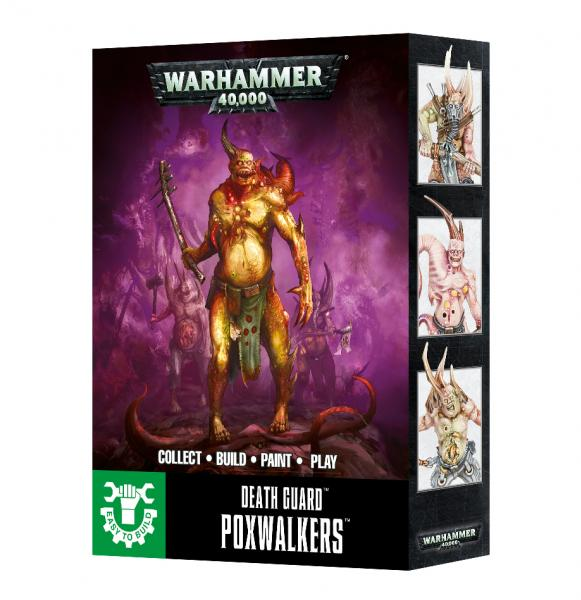 WH40K: Death Guard Poxwalkers (Easy to Build)