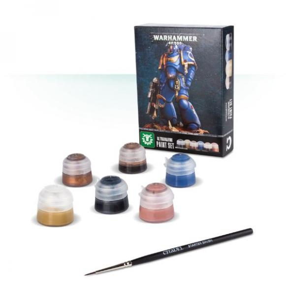 WH40K: Ultramarines Paint Set