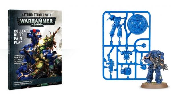 WH40K: Getting Started with Warhammer 40K (SC)