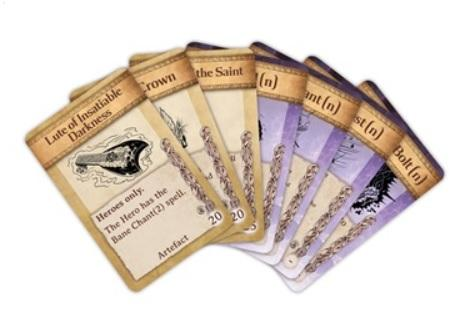Kings of War Artefact & Spell Cards