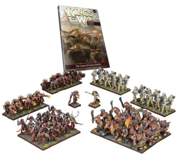 Kings of War: The Battle of the Glades Two Player Battle Set