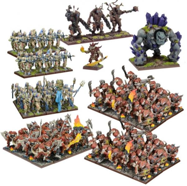 Kings Of War: Forces of Nature Mega Army