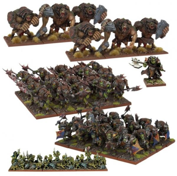 Kings Of War, 2nd Edition: Orc Army