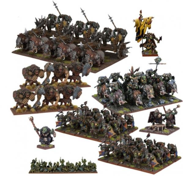 Kings Of War, 2nd Edition: Orc Mega Army