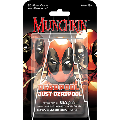 Munchkin: Deadpool Just Deadpool