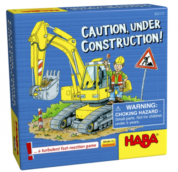 Caution, Under Construction!