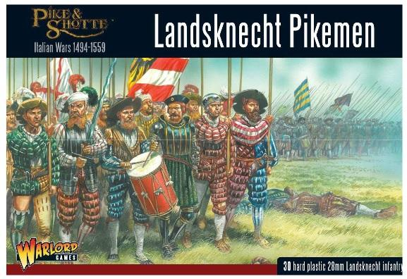 Pike & Shotte: Landsknechts Pikemen