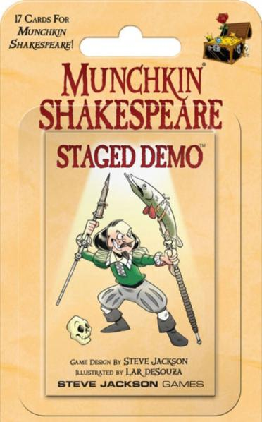Munchkin Shakespeare: Staged Demo (Booster Pack)