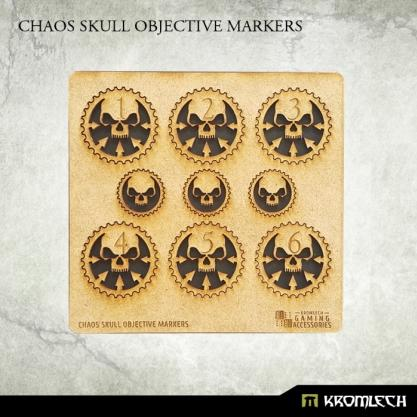Kromlech Accessories: Chaos Skull Objective Markers [HDF] (9)