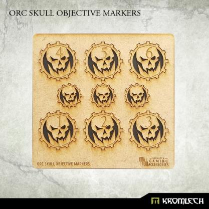Kromlech Accessories: Orc Skull Objective Markers [HDF] (9)