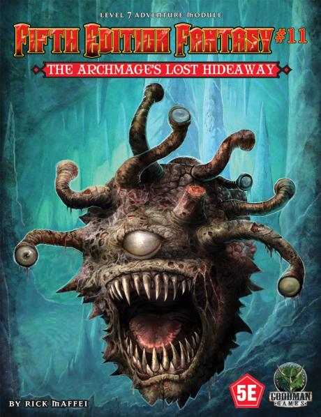Dungeons & Dragons RPG: (Fifth Edition Fantasy) #11 The Archmage's Lost Hideaway