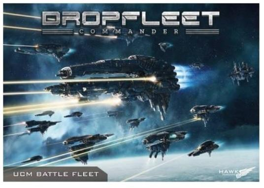 Dropfleet Commander: (United Colonies Of Mankind) UCM Fleet Box