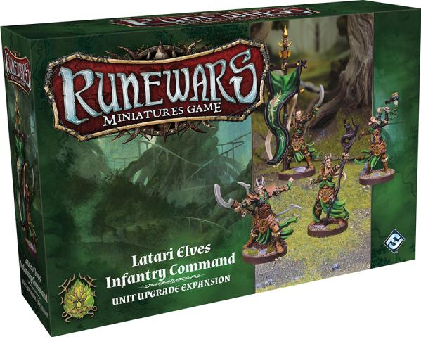 RuneWars: Latari Elves Infantry Command Unit Upgrade Expansion