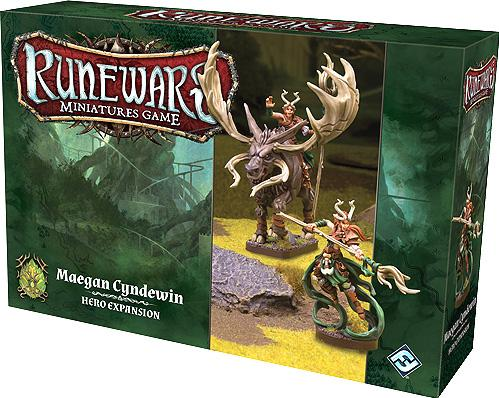 RuneWars: Maegan Cyndewin Hero Expansion