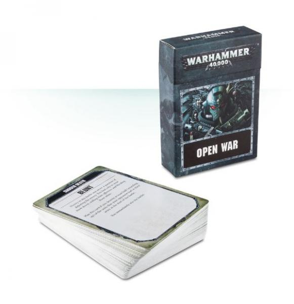 WH40K: Open War Cards