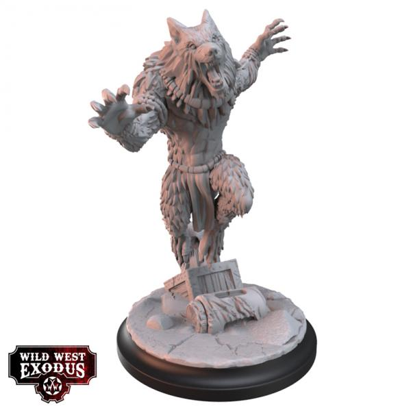 Wild West Exodus: Legendary Ghost Wolf