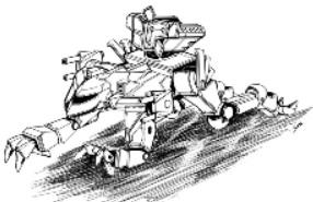 BattleTech Miniatures: Jaguar (Standard) Mech - 35 Tons - TRO 3145 Lyran Commonwealth