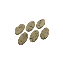 Battle Bases: Ruins Bases, Oval 60mm (4)